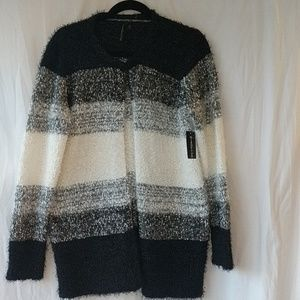 Allie & Rob cardigan sweater sz Med NWT
